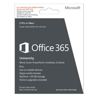 Microsoft Office 365 University Medialess