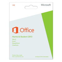 Microsoft Office 2013 Home & Student Medialess (PC)