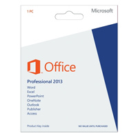 Microsoft Office 2013 Professional Medialess