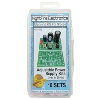 Nightfire Adjustable +Voltage Power Supply Project Kit
