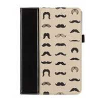 Griffin Folio Mustachio for iPad mini - Black/Beige