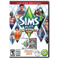 Electronic Arts The Sim 3 + Sims 3 University Life (PC)