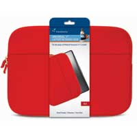 "Travelocity Neoprene Sleeve Fits Screens up to 17"" Red"