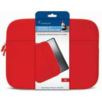 "Travelocity Neoprene Sleeve Fits Screens up to 15"" Red"