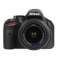 Nikon D5200 24.1 Megapixel DSLR Camera kit w/18-55mm Lens - Black