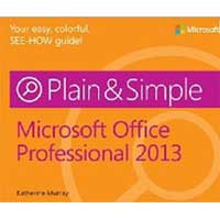 Microsoft Press OFFICE 2013 PLAIN & SIMPL