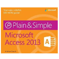 Microsoft Press ACCESS 2013 PLAIN & SIMPL