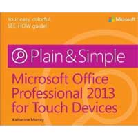 Microsoft Press OFFICE 2013 FOR TABLETS