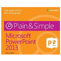 Microsoft Press POWERPOINT 2013 PLAIN SIM