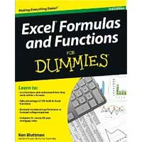 Wiley EXCEL FORMULAS FUNCTIONS