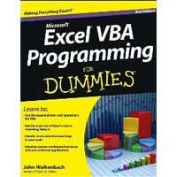 Wiley EXCEL VBA PROG DUM 3/E