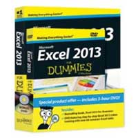 Wiley Excel 2013 For Dummies, Book + DVD Bundle