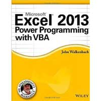 Wiley EXCEL 2013 POWER PROG VBA