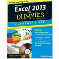 Wiley Excel 2013 eLearning Kit For Dummies