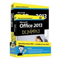 Wiley OFFICE 2013 DUMMIES BUNDL