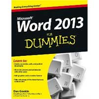 Wiley WORD 2013 FOR DUMMIES