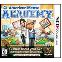 Maximum Games American Mensa Academy (3DS)