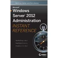 Wiley WINDOWS SERVER 2012 ADMIN