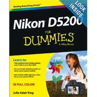 Wiley NIKON D5200 FOR DUMMIES
