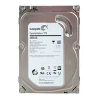 "Seagate Enterprise Value Constellation CS 2TB 7,200 RPM SATA 6.0Gb/s 3.5"" Internal Hard Drive ST2000NC001 - Bare Drive"