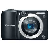 Canon PowerShot A1400 16 Megapixel Digital Camera - Black