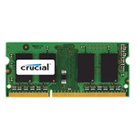 Crucial 4GB DDR3-1333 (PC3-10600) CL9 SODIMM Laptop Memory Module