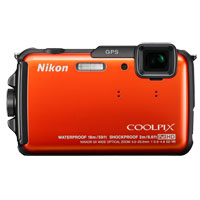 Nikon Coolpix AW110 16 Megapixel Digital Camera - Orange
