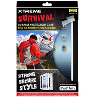 Xtreme Cables Survival Durable Protection Case for the iPad Mini - Black/White