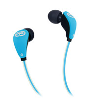 Ecko Unltd. EKU-GLW-BL Glow Stereo Earbuds - Blue