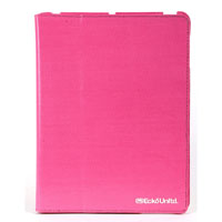 Ecko Unltd. Shiny Canvas Case For iPad 2 - Pink