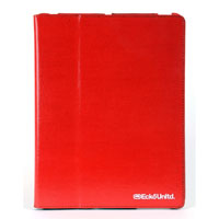 Ecko Unltd. Shiny Canvas Case For iPad 2 - Red