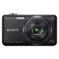 Sony Cyber-shot WX80 16.2 Megapixel Digital Camera - Black