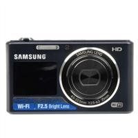 Samsung DV150 Dual View 16.2 Megapixel Digital Camera - Cobalt Black
