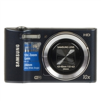 Samsung ST150 16 Megapixel Digital Camera - Cobalt Black