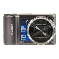 Samsung WB250 14 Megapixel Digital Camera - Gun Metal