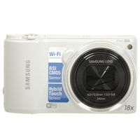 Samsung WB250 14 Megapixel Digital Camera - White