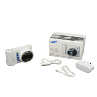 Samsung Wb800 16 Megapixel Digital Camera - White