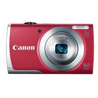 Canon PowerShot A2500 16 Megapixel Digital Camera - Red
