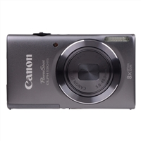 Canon PowerShot ELPH 130 IS 16 Megapixel Digital Camera - Grey