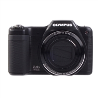 Olympus SZ-15 16 Megapixel Digital Camera - Black