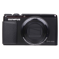 Olympus SH-50 iHS 16 Megapixel Digital Camera - Black