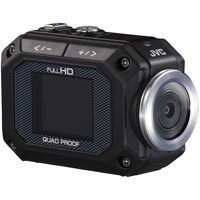 JVC GC-XA1 Full HD 1080p Adixxion Action Cam - Black