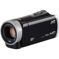 JVC GZ-EX310 Full HD 1080p Digital Video Camera with Wi-Fi - Black