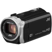 JVC Everio EX515 2.5 Megapixel 1080p HD Digital Video Camera - Black