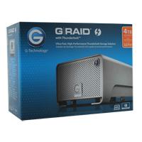 HGST G-RAID 4TB Thunderbolt Desktop External Hard Drive 0G02289