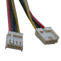 Kingwin 4-Pin Molex to 2 x 4-Pin Floppy Power Adapter Cable