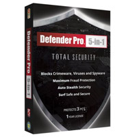 Bling Defender Pro 5 in 1 Total Security (PC)