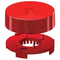 Allied Electronics Raspberry Pi Plate Enclosure - Translucent Red