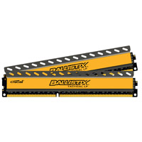 Crucial Ballistix Tactical LP 16GB DDR3-1600 (PC3-12800) CL8 Desktop Memory Kit (Two 8GB Memory Modules)