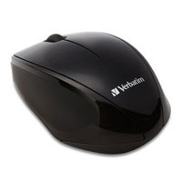 Verbatim Wireless Multi-Trac LED Optical Mouse Black